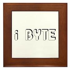 I Byte Framed Tile