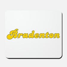 Retro Bradenton (Gold) Mousepad