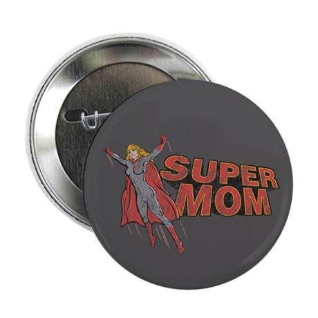 "Super Mom 2.25"" Button (10 pack)"