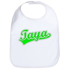 Retro Taya (Green) Bib