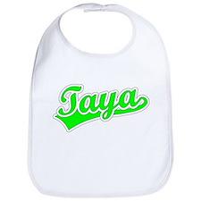 Retro Taya (Green) Bib