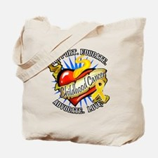 CC Heart Tattoo Tote Bag