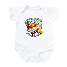 CC Heart Tattoo Infant Bodysuit