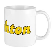 Retro Brighton (Gold) Mug