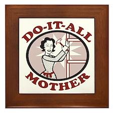 Do It All Mom Framed Tile