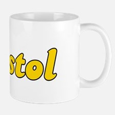 Retro Bristol (Gold) Mug