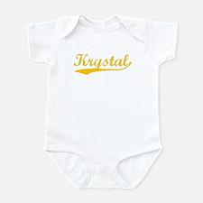 Vintage Krystal (Orange) Infant Bodysuit