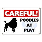 Poodles At Play Banner
