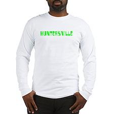 Huntersville Faded (Green) Long Sleeve T-Shirt