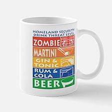 Homeland Security Drink Level Mug