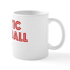 Retro Aquatic Bas.. (Red) Mug