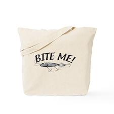 Bite Me Fishing Lure Tote Bag