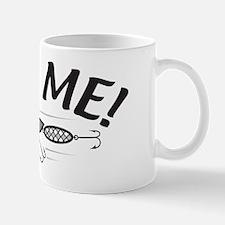 Bite Me Fishing Lure Mug