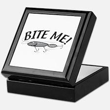 Bite Me Fishing Lure Keepsake Box