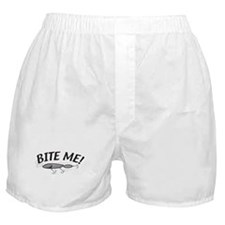 Bite Me Fishing Lure Boxer Shorts