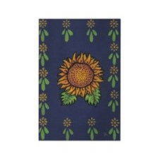 Sunflower - Rectangle Magnet