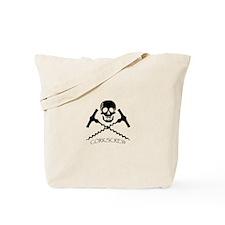 Unique Corkscrews Tote Bag