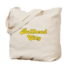 Retro Bullhead City (Gold) Tote Bag