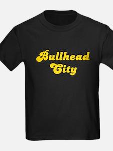 Retro Bullhead City (Gold) T