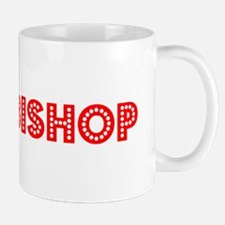Retro Archbishop (Red) Mug