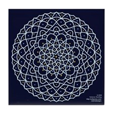 Celestial Night Tile Coaster