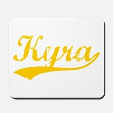 Vintage Kyra (Orange) Mousepad