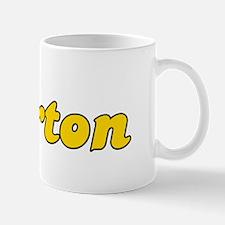 Retro Burton (Gold) Mug