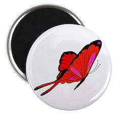 """Red Flutters 2.25"""" Magnet (100 pack)"""