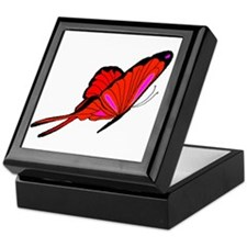 Red Flutters Keepsake Box