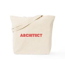 Retro Architect (Red) Tote Bag