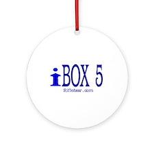 iBOX 5 Ornament (Round)