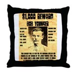 Bob Younger Reward Throw Pillow