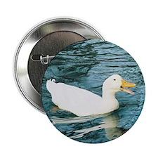 "Happy Duck 2.25"" Button"