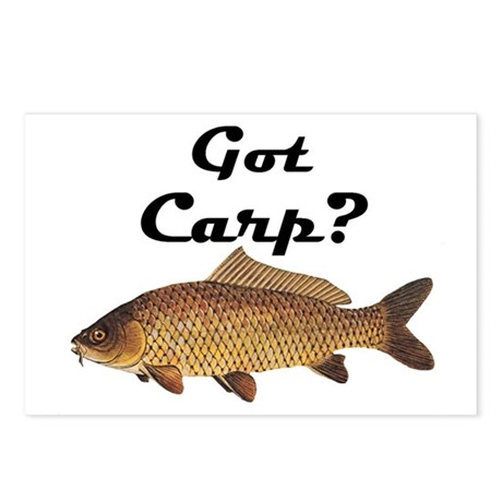 Got Carp? Postcards (Package of 8)