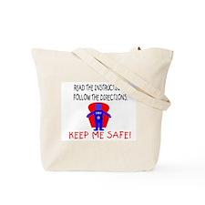 """""""Manual"""" Tote Bag"""