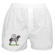 hunting german wirehair Boxer Shorts