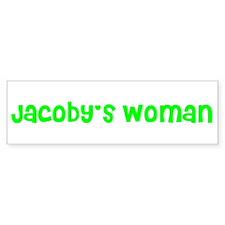 Jacoby's Woman Bumper Bumper Sticker