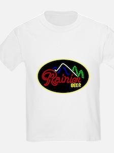 Rainier Beer neon sign 3 T-Shirt