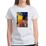 Cafe / Schnauzer (#8) Women's T-Shirt