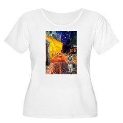 Cafe / Schnauzer (#8) T-Shirt