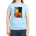 Cafe / Schnauzer (#8) Women's Light T-Shirt