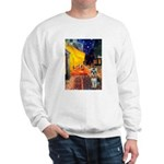Cafe / Schnauzer (#8) Sweatshirt