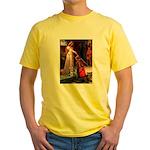 Accolade / Schnauzer (#8) Yellow T-Shirt