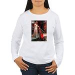 Accolade / Schnauzer (#8) Women's Long Sleeve T-Sh