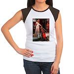 Accolade / Schnauzer (#8) Women's Cap Sleeve T-Shi