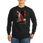 Accolade / Schnauzer (#8) Long Sleeve Dark T-Shirt