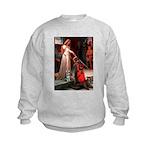 Accolade / Schnauzer (#8) Kids Sweatshirt