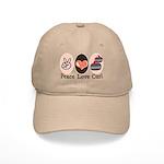 Peace Love Curl Curling Cap