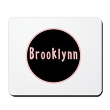 Brooklynn - Pink Circle Mousepad