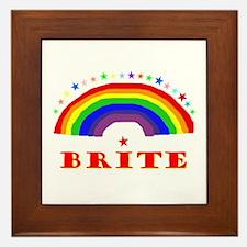 Brite Framed Tile